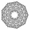 Vector clipart: Mandala. Abstract Decoration