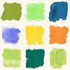 Vibrant colors felt pen stains