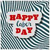 Vector clipart: Happy Labour s day inscription