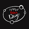 Vector clipart: Happy Labours day inscription