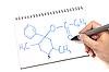 Chemical Formula | Stock Foto