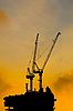 Construction Cranes | Stock Foto
