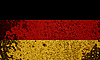 Germany Grunge Flag | Stock Foto