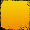 Photo 300 DPI: yellow Halloween background
