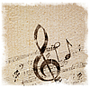 ID 3054336 | Old Style Music Background | High resolution stock illustration | CLIPARTO
