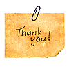Thank You Message | Stock Foto