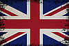 Spotted Flag Of UK | Stock Foto