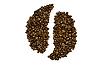 Фото 300 DPI: знак инь янь из кофейных зерен