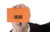 Hand with Discount Shopping Card | Stock Foto