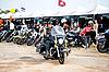 Bikers at the bike show | Stock Foto
