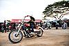 ID 3056659 | Biker on chopper | Foto stockowe wysokiej rozdzielczości | KLIPARTO