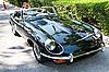 Jaguar E-Type on Vintage Car Parade | Stock Foto