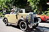 Austin Seven na Vintage samochód Parade | Stock Foto