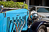 Alvis Speed 20 on Vintage Car Parade | Stock Foto