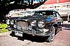 Jaguar 420 G on Vintage Car Parade | Stock Foto