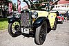 Austin 7 convertible on Vintage Car Parade | Stock Foto