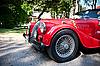 Morgan Plus 8 on Vintage Car Parade | Stock Foto