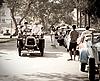 Darraco on Vintage Car Parade | Stock Foto