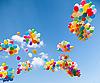 ID 3056736 | Kolorowe balony | Foto stockowe wysokiej rozdzielczości | KLIPARTO