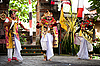 Photo 300 DPI: Barong perfomance actors in Bali