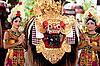 Photo 300 DPI: Barong - character of the Balinese mythology