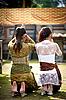 在巴厘岛库宁冈节 | 免版税照片