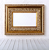 ID 3069707 | Old picture frame on wall  | High resolution stock photo | CLIPARTO