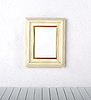 Picture frame on wall  | Stock Foto