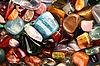 Beautiful precious stones   Stock Foto