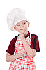 A boy chef | Stock Foto