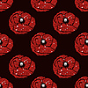 Simple poppy pattern