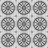Vector clipart: Lace of openwork squares