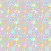 Vector clipart: Pattern of pastel colors on gray background