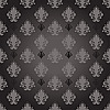 black seamless damask background