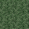 Vector clipart: seamless green leaves texture