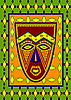 Vector clipart: african mask