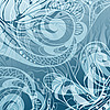 Vector clipart: frosty abstract background