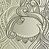 Векторный клипарт: абстрактные цветочные кузова