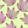 Векторный клипарт: Летом фон с абстрактными листьев