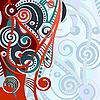 Векторный клипарт: абстрактных геометрических фон