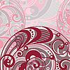 Векторный клипарт: абстрактный светлом фоне со спиральными