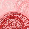 Векторный клипарт: абстрактный фон в красный