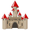 cartoon castle