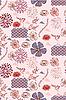 Векторный клипарт: Японский стиль бесшовных весной цветочным узором
