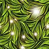 ID 3081069 | Nahtlose abstraktes Muster mit hellen Blättern | Illustration mit hoher Auflösung | CLIPARTO