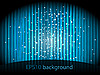 Vector clipart: background with blue stripes and small stars