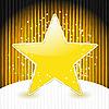 Vector clipart: yellow star