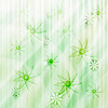 Vector clipart: winter background with snowflakes and stars