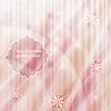 Векторный клипарт: зимний фон снежинки и звезды