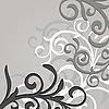 Векторный клипарт: цветочные патерн